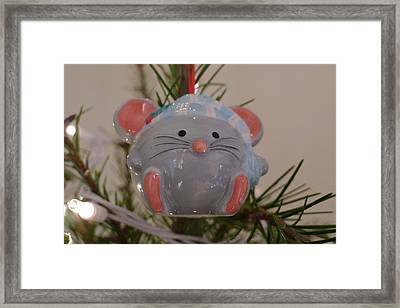 Framed Print featuring the photograph Squeaky Xmas by Richard Reeve