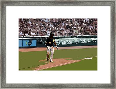 Squeeze Framed Print by Adam Barone