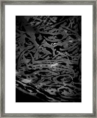 Squirm For The Norm  Framed Print by Jerry Cordeiro