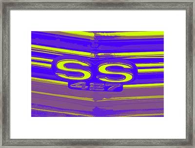 Ss 427 Super Sport Framed Print by Chuck Re