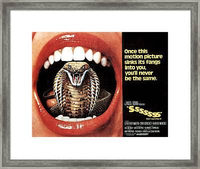 Sssssss, Lobby Card, 1973 Framed Print