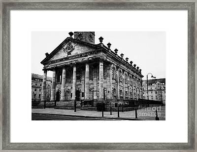 St Andrews In The Square Glasgow Scotland Uk Framed Print by Joe Fox