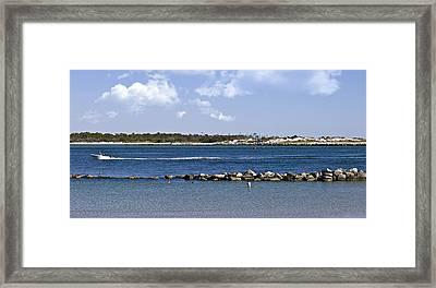 St. Andrews Island Framed Print by Susan Leggett