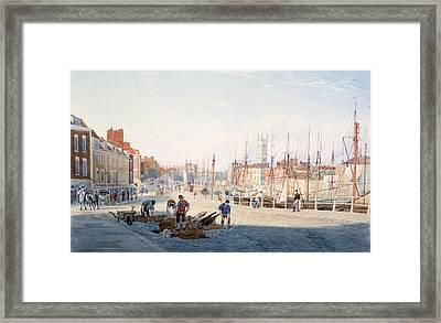 St Augustines Parade, Bristol, England Framed Print by Photos.com