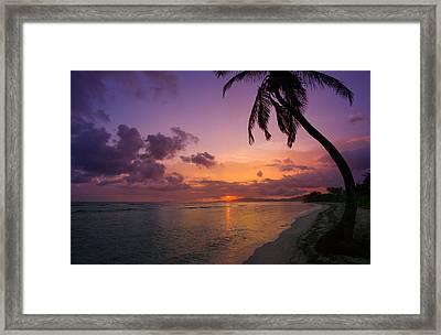 St. Croix Sunrise Framed Print