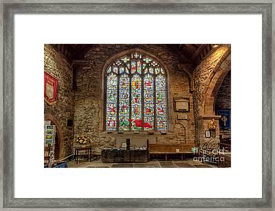 St Dyfnog Framed Print by Adrian Evans