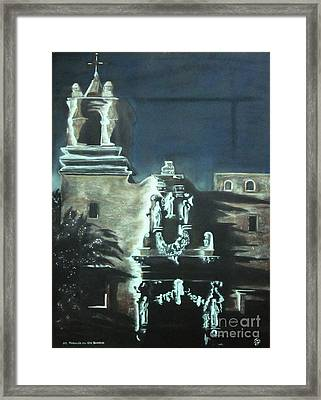 St Francis On The Brazos Framed Print