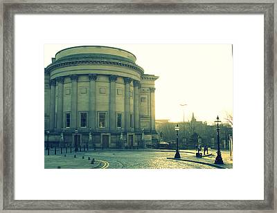 St Georges Hall Liverpool Framed Print