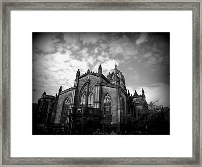 St Giles Cathedral Edinburgh Framed Print by Ian Kowalski