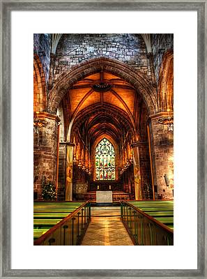 St Giles Cathedral Framed Print by Svetlana Sewell