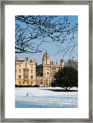 Framed Print featuring the photograph St Johns by Andrew  Michael
