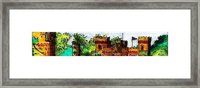St John's Castle Turkey Framed Print by Phil Strang