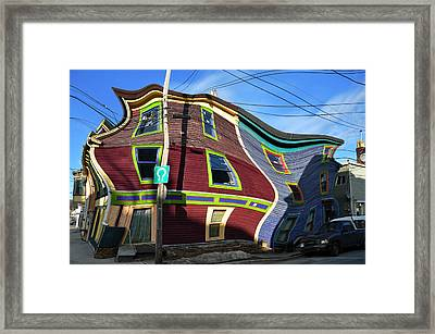 St Johns Street House Framed Print by Geoff Evans