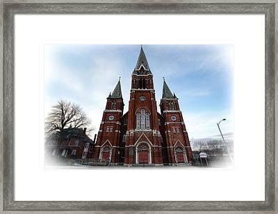 St. Josaphat Roman Catholic Church Detroit Michigan Framed Print by Gordon Dean II