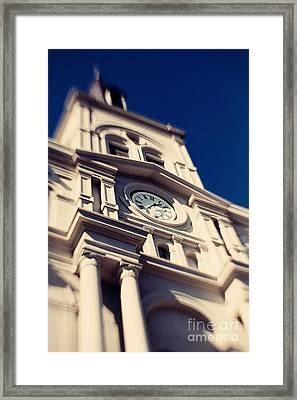 St Louis Cathedral Framed Print by Erin Johnson