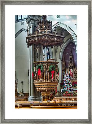 St Louis Church 11 Framed Print by Chuck Alaimo