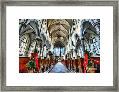 St Louis Church 4 Framed Print by Chuck Alaimo