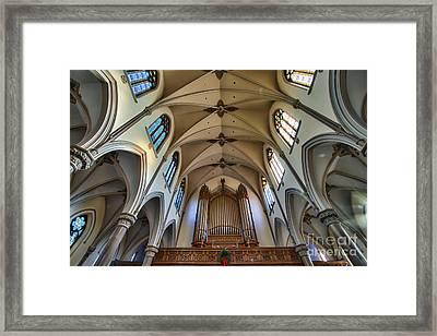 St Louis Church 8 Framed Print by Chuck Alaimo
