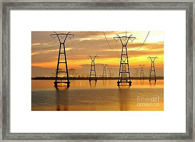 St. Lucie Nuclear Power Plant Framed Print by Don Youngclaus