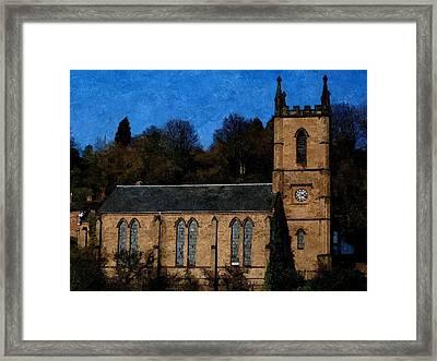 St Luke's Church Ironbridge Framed Print