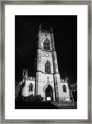 St Lukes Church Known Locally As The Bombed Out Church In Liverpool City Centre Merseyside Framed Print
