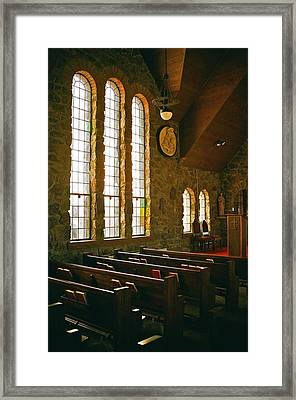 Framed Print featuring the photograph St Malo Church by David Pantuso