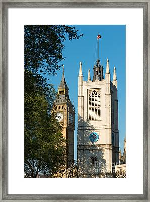 St Margarets Church Westminster  Framed Print by Andrew  Michael