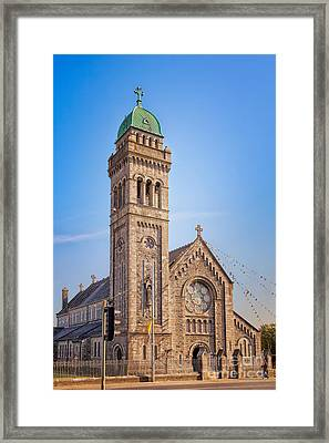 St. Mary Cathedral In Limerick Framed Print by Gabriela Insuratelu