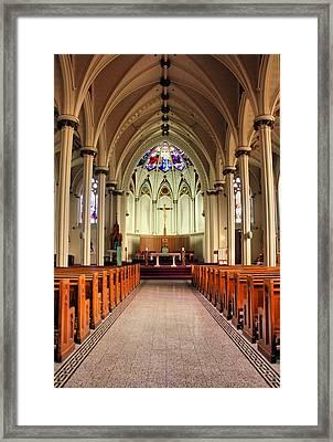 St. Mary's Basilica Halifax Framed Print by Kristin Elmquist