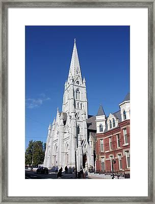 St. Mary's Basilica Framed Print by Kristin Elmquist