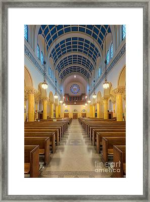 St. Mary's Church IIi Framed Print by Clarence Holmes