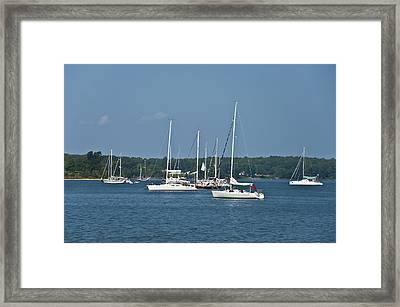 St. Mary's River Framed Print by Bill Cannon