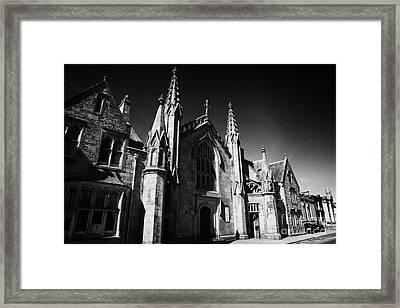 St Marys Roman Catholic Church Inverness Highland Scotland Uk Framed Print by Joe Fox
