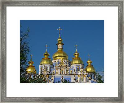 Framed Print featuring the photograph St. Michael's Cathedral by David Gleeson