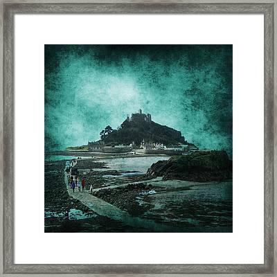 St Michaels Mount Framed Print by Svetlana Sewell