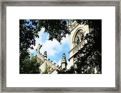 St Paul Cathedral Framed Print by Thomas R Fletcher