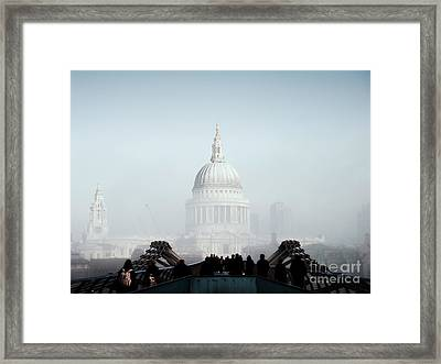 St Paul's Cathedral Framed Print by Pixel  Chimp