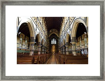 St Pauls Cathedral Framed Print by Yew Kwang