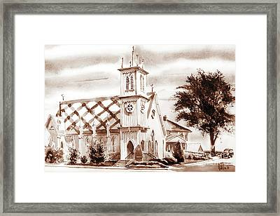 St. Pauls Episcopal Church IIi Framed Print