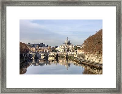 St. Peter's Basilica Framed Print by Joana Kruse