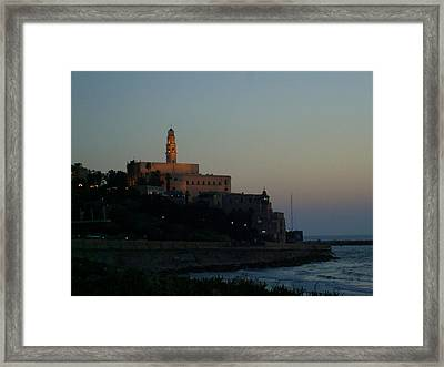 St. Peter's Church Old Jaffa - Israel Framed Print by Joshua Benk