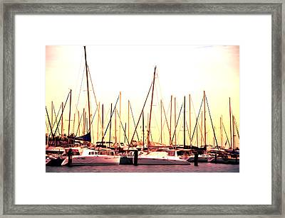 St. Petersburg In The Morning Framed Print by Bill Cannon