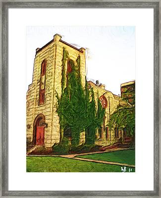 St. Stephens Anglican Church Framed Print