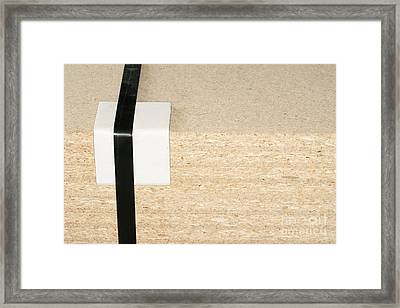 Stack Of Bound Plywood Framed Print by Shannon Fagan