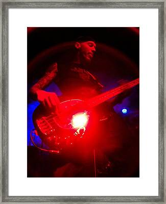 Stage Presence Framed Print by Kay McLaren