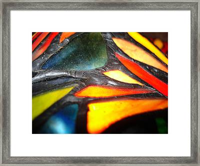 Stained Glass One Framed Print