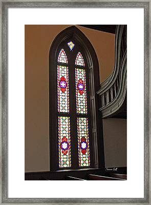 Stained Glass Series I Framed Print