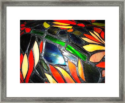 Stained Glass Three Framed Print