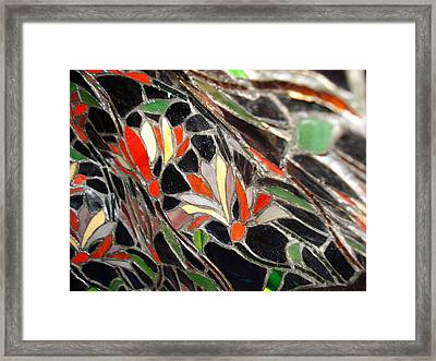 Stained Glass Two Framed Print