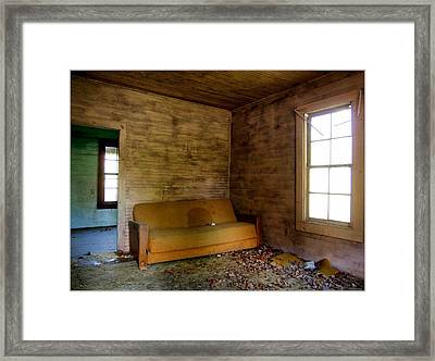 Stained History  Framed Print by Tammy Cantrell